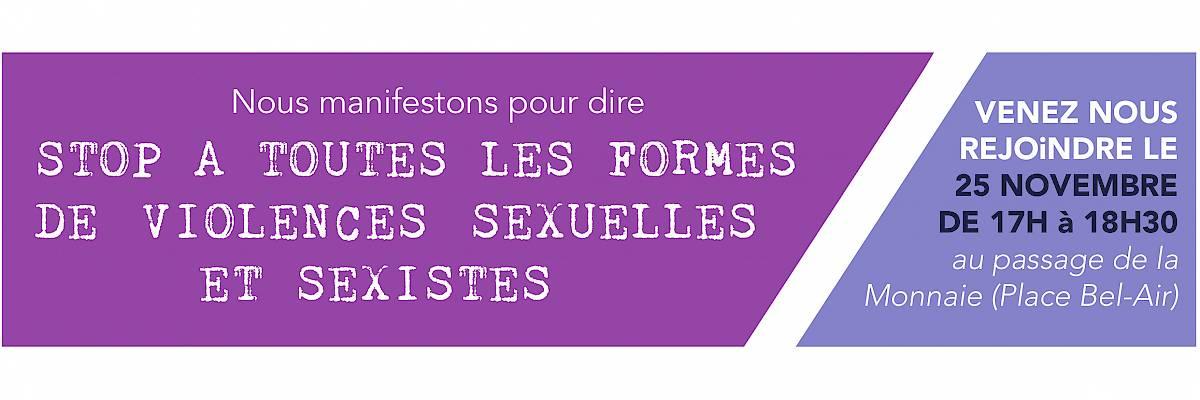 25 novembre - Journée internationale pour l'élimination de la violence à l'égard des femmes
